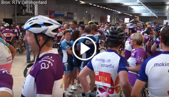 Mooie impressie Ride for the Roses door RTV Lansingerland