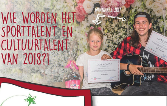 Nomineer jouw talent!